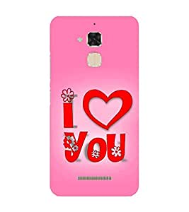 Fiobs Designer Back Case Cover for Asus Zenfone Max ZC550KL :: Asus Zenfone Max ZC550KL 2016 :: Asus Zenfone Max ZC550KL 6A076IN (Love Dots Lovely Beautiful Pink)