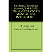 US Army, Technical Manual, TM 5-2420-230-10, OPERATOR'S MANUAL FOR INTERIM HIGH-MOBILITY ENGINEER EXCAVATOR (IHMEE) NSN 2420-66-148-7692 (English