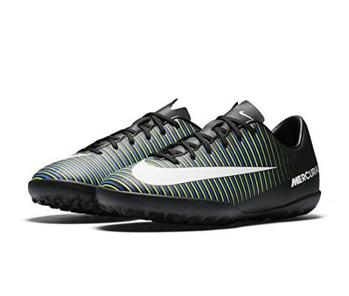 Nike Unisex-Erwachsene 831949-013 Fußballschuhe Black (Schwarz / Weiß-Elektro - Grün)