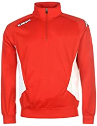 Kappa Foligno Herren Fussball Sweatshirt Sport Training Langarm Stehkragen