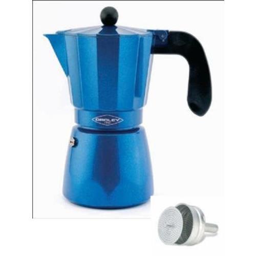 Cafetera Oroley Induccion Blue (3-6 tazas)