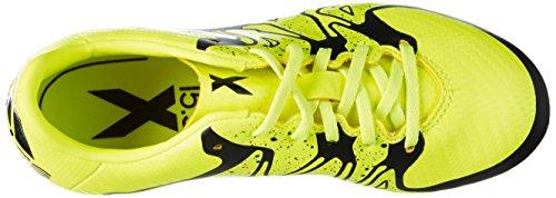 Adidas - X15.3 Fg/Ag, Scarpe Da Calcio per bambini e ragazzi Verde (Verde/Nero)