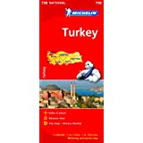 Turkey NATIONAL Map (Michelin National Maps)