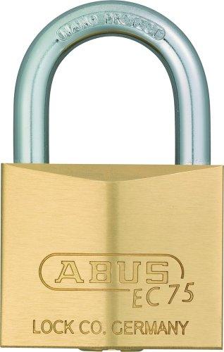 ABUS Messing-Vorhangschloss 75/40, 26638 - 1.875