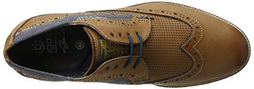 Bugatti 311256011000, Scarpe Stringate Uomo Marrone (Cognac 6300)