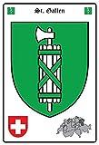 OKLS Freistaat Bayern Mini-Blechschild Blechpostkarte - 8x11cm Nostalgieschild Retro Schild Metall Blechschild, 574, 7.8inch*11.8inch
