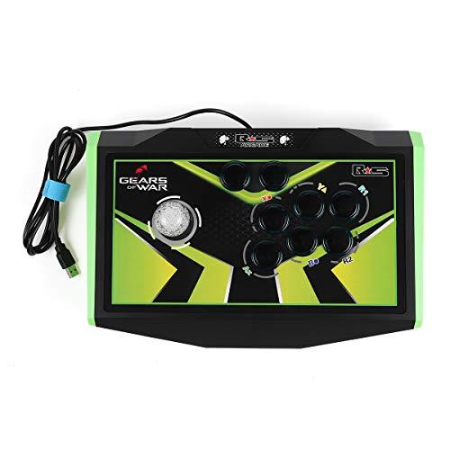 Xbox Kostüm Controller - C-FUNN RS USB LED kabelgebundenes Spiel Arcade Joystick Fighting Stick Inget Fördröjning Gamepad Arcade Controller För PC Videospiel