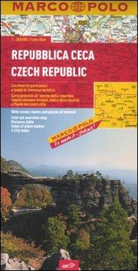 Repubblica Ceca 1:300.000. Ediz. multilingue (Carte stradali Marco Polo)