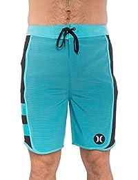 Boardshort Hurley Phantom Motion Stripe Chlorine Blue