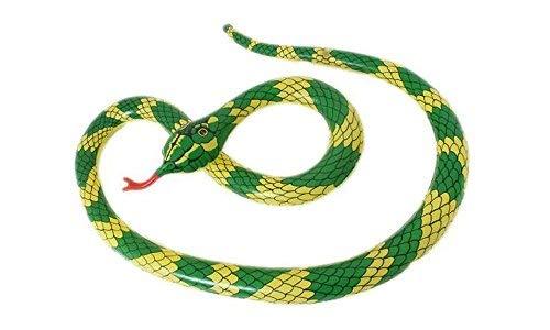 Große aufblasbare Schlange Python Jungle Tarzan Kostüm Zubehör