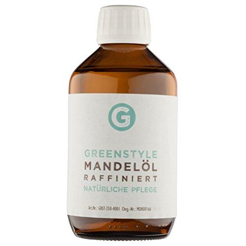 Mandelöl (250ml) - reines Basisöl zur Pflege von Haut und Haar