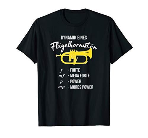 Fluegelhorn Dynamik Eines Fluegelhornisten Lustig Shirt