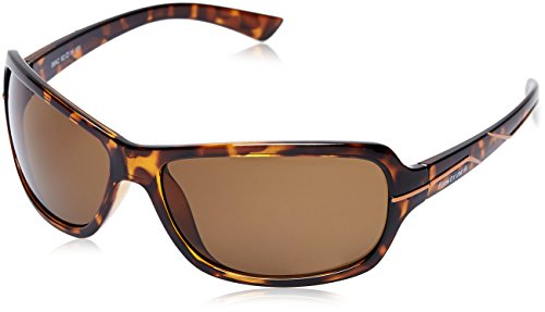 Fastrack UV Protected Wrap-Around Men's Sunglasses (P321GR3|62|Brown) image