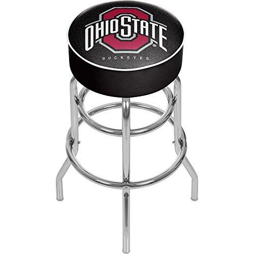 NCAA Ohio State University Gepolsterter Barhocker mit Drehgelenk (Osu Leichtathletik)