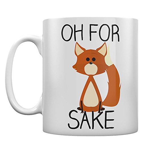 Real Slick Tees Oh For Fox Sake Mug