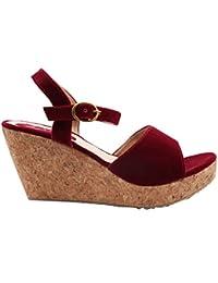 Lush Women's Heel Wedges Trendy Premium Design Party And Office Wear Girls Heel Wedges