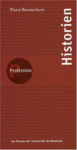 Profession Historien