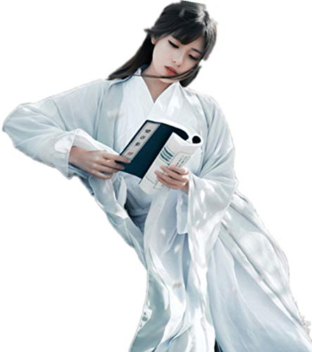 Kostüm Girl Retro Comic - Susichou Kostüm Fairy Dance Kostüme Verbesserte Hanfu Qixiu Rock Frisch und Elegant Xia Girl Kostüme Chinesische Kampfkunst Kung Fu (M)