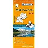 Carte Midi-Pyrénées 2016 Michelin