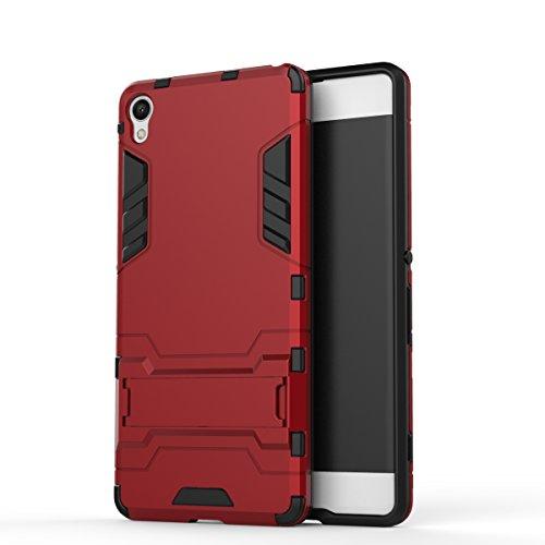 Preisvergleich Produktbild Sony Xperia XA Handy Tasche,  FoneExpert® Hülle Abdeckung Cover schutzhülle Tough Strong Rugged Shock Proof Heavy Duty Case für Sony Xperia XA
