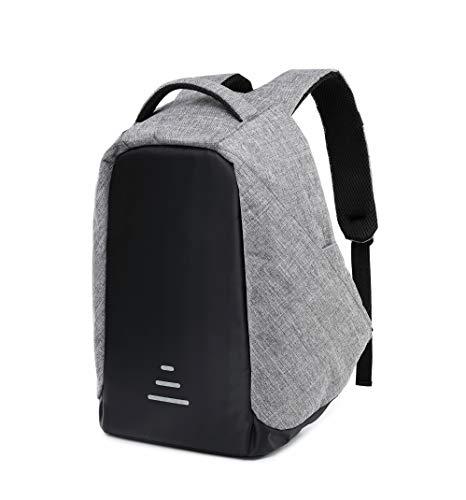 Antifurto zaino per laptop università zaino da 15.6 pollici zaino porta carica usb zaino per pc zaino business, viaggio, attività (giallo_1)