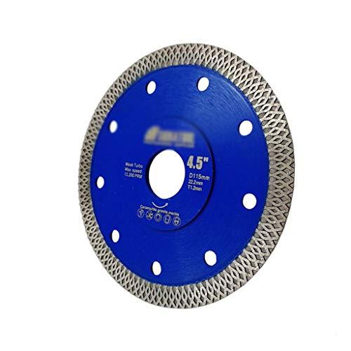 LiYL 1 stück heißgepresste gesinterte diamanttrennscheibe x mesh Turbo Rim Segment kreissägeblatt Durchmesser 4,5
