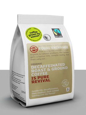 Equal Exchange Organic Decaffeinated Ground Coffee 227 g Parent