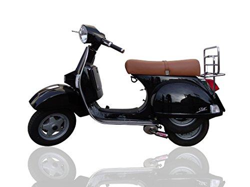 GPR Italia LML.1.CAT.AO Anlage komplett zugelassen und Katalysiert für Scooter Lml Star 125 4 Takt / 4 Strokes Genuine Stella 2010/13 Aluminium -