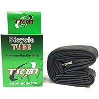 "TKM - Cámara de aire Antipinchazos para Bicicleta MTB Super Reforzada 29"" X1.95/2.125/2.35 Válvula Fina F/V"