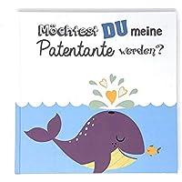 Geschenk Buch Patentante, Willst du meine Patentante sein?