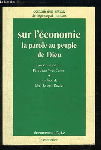 PDF/MOBI/EPUB telecharger le livre de Sur l\u0027économie, la parole au peuple  de Dieu gratuit