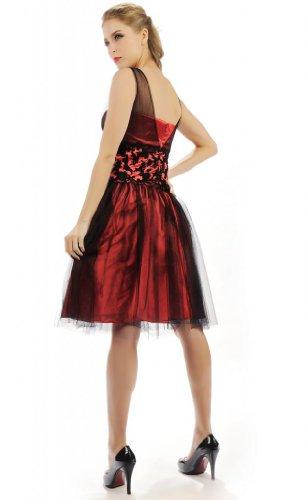 HBH Hamburger Brautmoden Abendkleid ED09 Rot