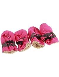 6bce27b0098b4 Swiftswan Scarpe da cani Cuccioli antiscivolo Cuccioli Addensare Stivali da  neve Scarpe Forniture calde Scarpe per cani Cuccioli Scarpe da…