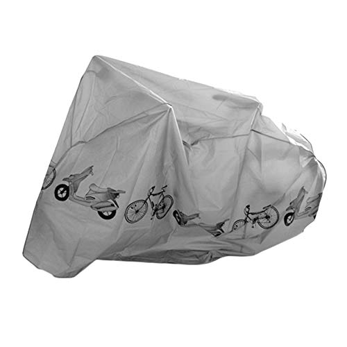 Yao Universal Bicycle Rain & Dust Proof Cover Waterproof UV Protector Cover Rain Protector