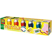 SES creative 00331 - Textilfarben Trendy 6 Farben je 45 ml