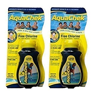 AQUACHEK TEST STRIPS (2 x 50 Strips) CHLORINE POOL/SPA TEST STRIPS FREE DELIVERY