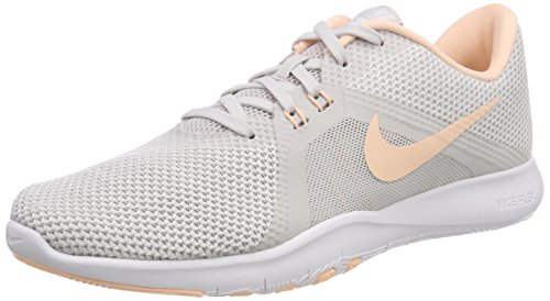 Nike Damen W Flex Trainer 8 Fitnessschuhe, Grau (Vast Grey/White/Crimson Tint 016) 37.5 EU