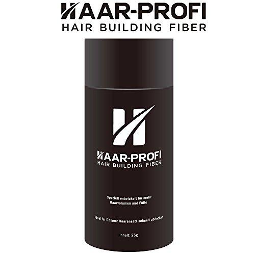 Haar-Profi Hair Building Fiber - MEDIUM BLOND - 5g - Haarverdichtung / Streuhaar / Haarfasern / Schütthaar - volles Haar in nur paar Sekunden