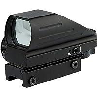 Táctica Holográfico Rojo/Verde Punto De La Vista Alcance Combo 4 Retículas Hd103 Negro