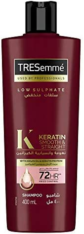 Tresemme Keratin Smooth Shampoo with Argan Oil for Dry & Frizzy Hair, 4