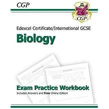 Edexcel International GCSE Biology Exam Practice Workbook with Answers (A*-G Course) (Edexcel Certificate)