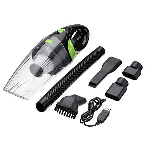 ZAZCB Drahtlose Auto-Staubsauger Handheld-Mini-Staubsauger Super Saug nass und trocken tragbarer StaubsaugerGrün (Tragbarer Nass-trocken-vakuum)
