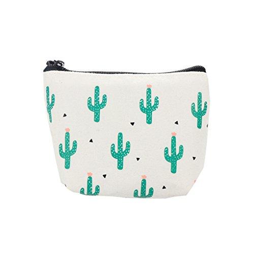 LUFA Sacchetto delle cuffie del sacchetto del sacchetto del sacchetto del sacchetto del sacchetto della moneta del cactus del fumetto sveglio del fumetto delle donne cactus multipli