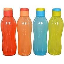 Tupperware–Botella de agua de 1000ml Flip Top (4* 1000ml)
