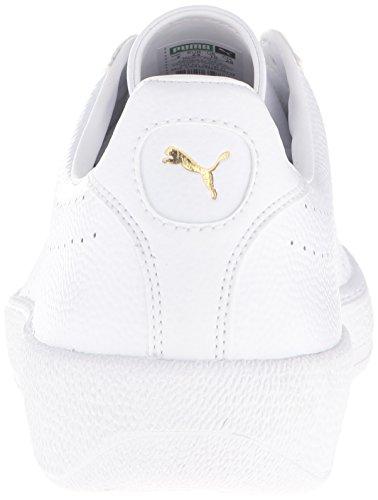 Puma Star L Core Cuir Baskets Puma White-Puma White