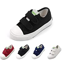 BENHERO Fashion Sneakers Kids Classic Casual Shoes for Boys Girls (Toddler/Little Kid)(9.5 M US Toddler, 880 Black)