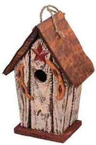 Garten Dekoration ht08596C Vogelhaus, 29,2, cremefarben