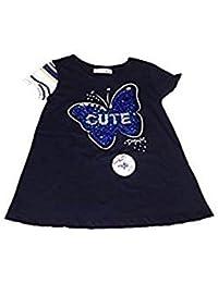 75abce4e8 Desigual TS Quebec - Camiseta Lentejuelas Corazon Niña