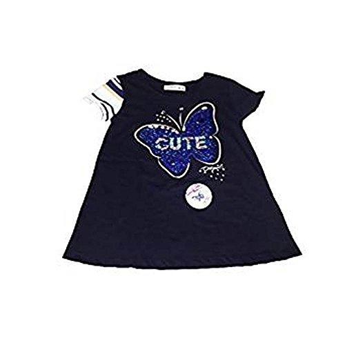 Desigual TS Quebec – Camiseta Lentejuelas Corazon Niña