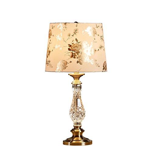 personnalité simple Lampe de table de style européen Décoration de luxe Décoration de style américain Chambre à coucher Lampe de chevet Lampe de table moderne Salon de mode créative